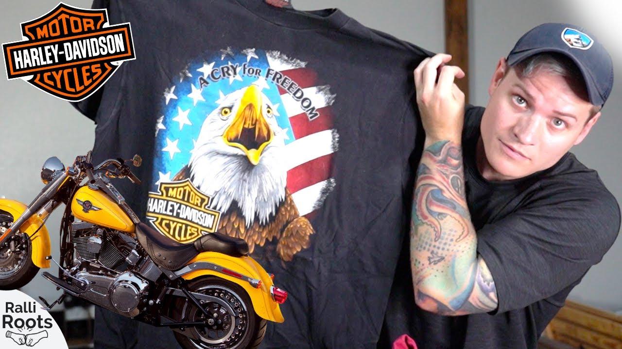 HUGE Harley Davidson Vintage T Shirt Haul!