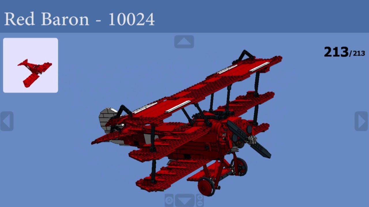lego red baron