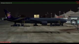 [P3D V4] PMDG 777-300ER Fly VTBS to VTCC [part2] 20 02 2019