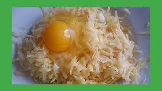 Очень простой рецепт а главное быстрый и вкусный Драники из картошки