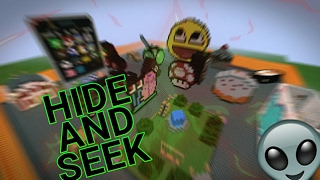 MINECRAFT PE - MAPA HIDE AND SEEK DOWNLOAD