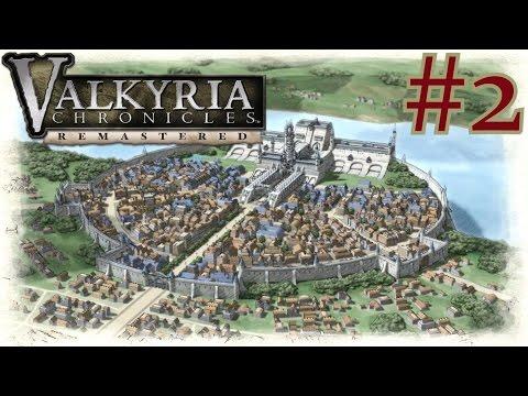 Valkyria Chronicles Remastered | PS4 Walkthrough Part 2 {Full 1080p HD, 60 FPS}