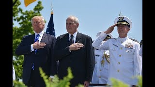 From youtube.com: President Trump and Chief of Staff Gen. John Kelly {MID-246063}