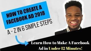 So Erstellen Sie eine Facebook Ad-2018 - A bis Z-in 6 Einfachen Schritten
