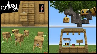 Minecraft: MORE 1.15 Bee Building Tricks and Techniques