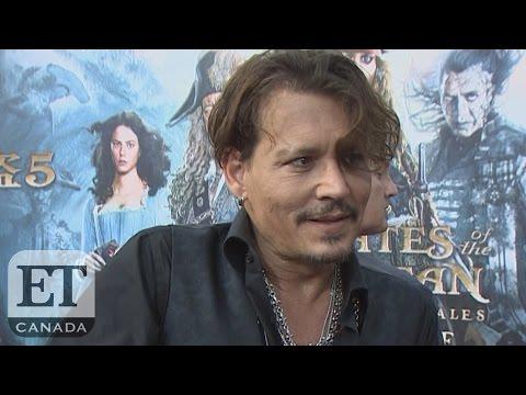 Johnny Depp, Orlando Bloom At 'Pirates' Shanghai Premiere