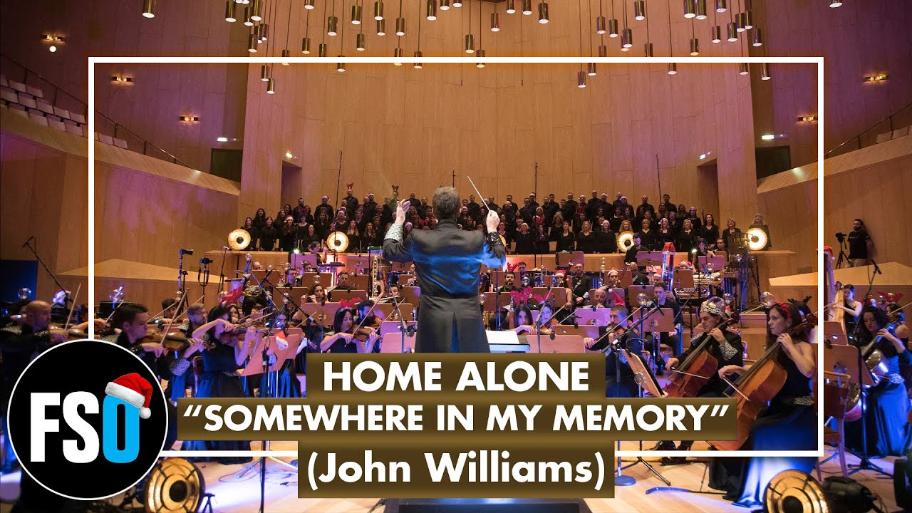 Fso Home Alone Somewhere In My Memory John Williams Youtube