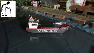 Converting my Playmobil Conlines Titan Cargo Ship to RC PART #2