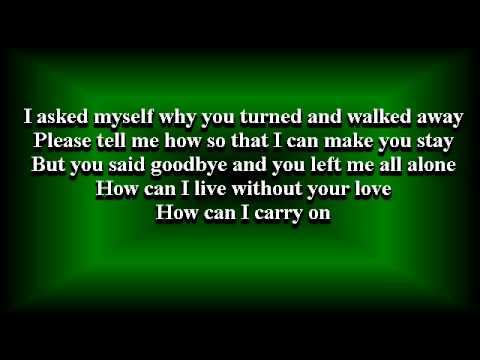 Goodbye's Not Forever with lyrics - Eric Santos