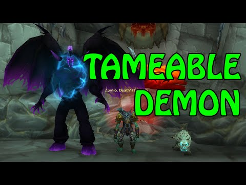 Legion - Hunter DEMON PET! How to get it (Guide)