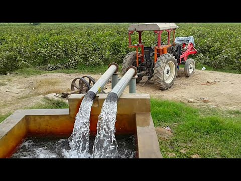 Punjab Village Best Tubewell Technology System   Agriculture In Pakistan