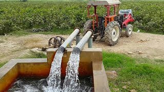 Punjab Village Best Tubewell Technology System | Agriculture In Pakistan