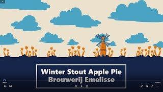 DECEMBER SPECIAL 2018 #94 Winter Stout Apple Pie Brouwerij Emelisse