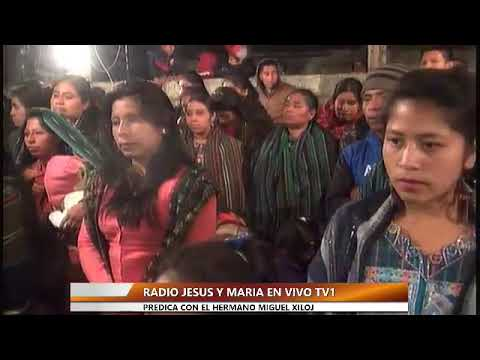 Predicasion por ele hermano miguel Xiloj Velasquez predica en tzucubal nahuala