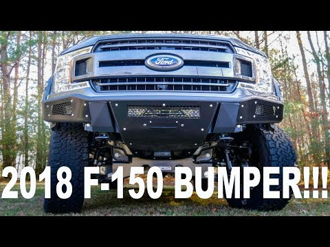 BEST LOOKING FORD F-150 BUMPER ON THE MARKET!!