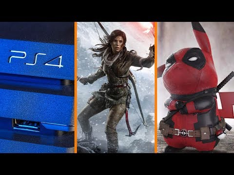 Download Youtube: PS4 Price Cut! + New Tomb Raider Announced + Deadpool Does Pikachu - The Know