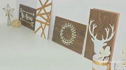 Cómo hacer cuadros decorativos con madera