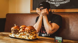 THE THREE PEAKS BURGER CHALLENGE | C.O.B. Ep.166