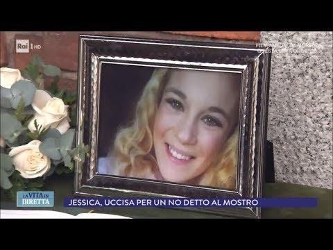 """""""Non voglio': Jessica, massacrata a coltellate dal mostro - La vita in diretta 25/04/2018"""
