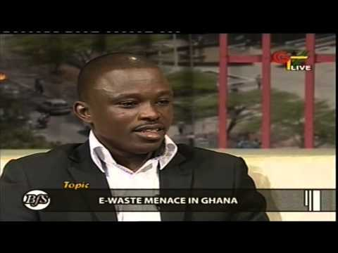 Ghana Television interview on DABRA awards and e-waste menace