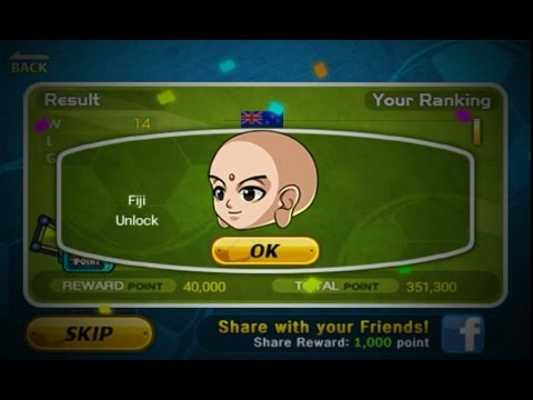 How To Unlock Fiji In Head Soccer #2 (Major League) Tips:Use New Zealand