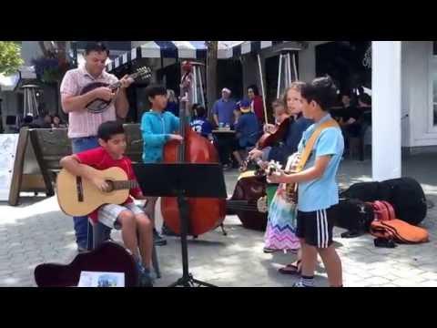 The Littles' (band name TBD) debut, Jack London Square Farmers Market: Cripple Creek, 7/17/16