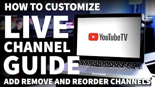 How to Customize YouTube TV Channel Lineup - YouTube TV Live Guide with Local Channels screenshot 4
