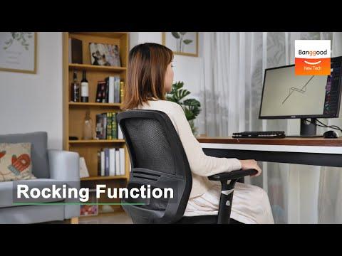 BlitzWolf BW-HOC2 Mesh Chair with Rocking Function - Banggood New Tech