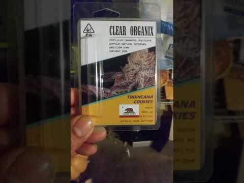 Tropicana cookies clear organic review