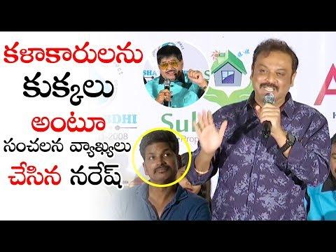 Naresh Sensati0al Comments On Movie Artists | VB Entertainments Telugu Film & Tv Dairy Launch | TV