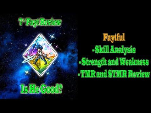 FFBE Global 7 Stars Fayt Review: Faytful (#637)