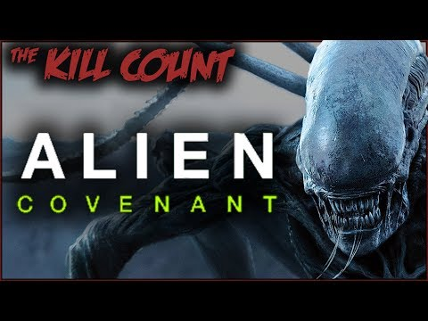 Alien: Covenant (2017) KILL COUNT