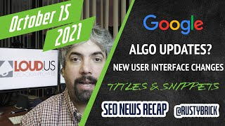 Google Search Algo Updates, Title Link Doc, Continuous Scroll, Knowledge Panel Updates & More