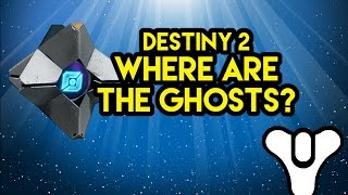 Destiny 2 Lore  Where are the Ghosts?
