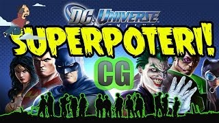 DC UNIVERSE ONLINE   GAMEPLAY ITA PC HD   UN GIOCO COI SUPERPOTERI