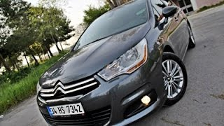 İnceleme - CITROEN C4 CONFORT PLUS 1.6 eHDİ 112PS  MCP