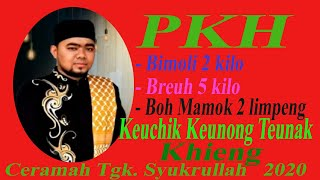 Viral Gara Gara Pkh Keuchik Jiteunak Khieng Ceramah Tgk Syukrullah Di Lambaro Aceh Besar 2020