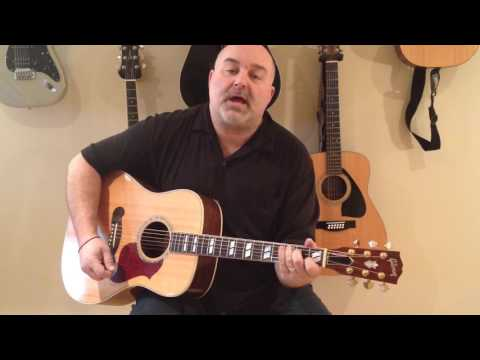 How to Play Luckenbach, Texas - Waylon Jennings (cover) - Easy 4 Chord Tune
