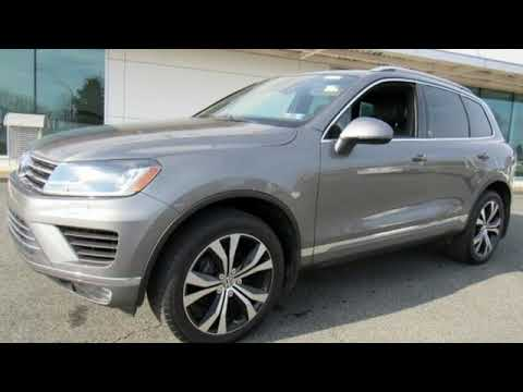 Used 2017 Volkswagen Touareg Allentown PA Lehigh Valley, PA #D005451T