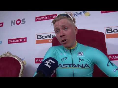 Michael Valgren - Post-race interview - Amstel Gold Race 2018