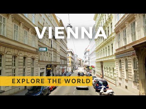 🇦🇹 VIENNA Bus Tour 4K All Routes, Austria