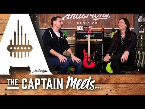 Captain Meets Guitar God Steve Vai!