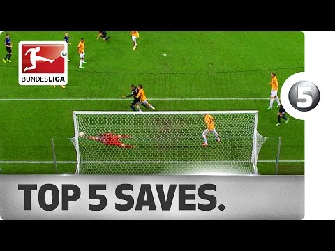 Top 5 Saves - Weidenfeller, Benaglio and More with Sensational Stops