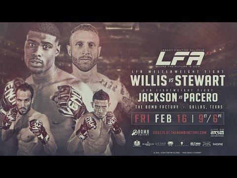 Legacy Fighting Alliance 33 Prelim - Rashaad Robinson vs Steven Orozco