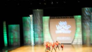 Onizawa Ikka- Japan @ (Hip Hop International 2012)