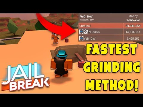 Roblox Jailbreak HOW TO GET *2,000,000$ MONEY IN A DAY* Best Grind Method!