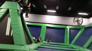 Epic Trampoline Dodgeball Ninja