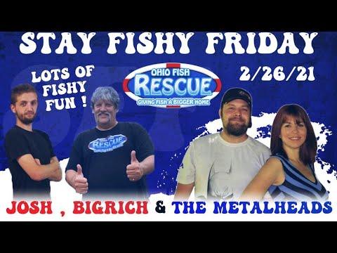 Stay Fishy Friday Livestream 02/26/21