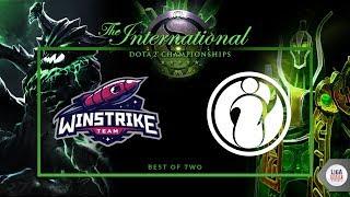 Invictus Gaming VS Winstrike (BO3) - The International 2018  Groupstage Day 4