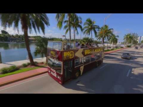 Big Bus Tours Miami - Open-Top Sightseeing Tour Video